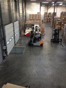 Logistique - Aire-de-chargements