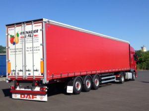 Transport routier de marchandises - Surface asphaltée de 8 000m²