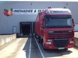 Transport routier de marchandises -Mise à quai aisée